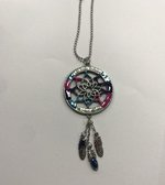 """Colorful Charms- Dream Catcher """" Let your dreams be your guide"""""""