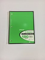 Notebook - 5 Subject - 180 Sheets