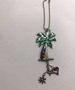 Colorful Charms- Palm Tree