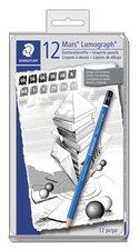 Pencils Lumograph 12pcs box set