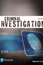 CRIMINAL INVESTIGATION (JUSTICE SERIES) (P)
