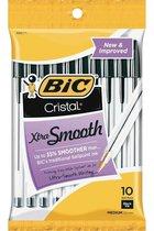 Pens - Bic - Cristal - Ball Point - 10pk