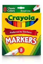 Markers Crayola 8pk