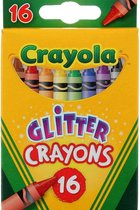 Crayons 16count Glitter Crayons