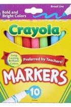 Markers - Crayola 10Pk