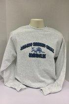 Custom Crewneck Sweatshirt- denim armadillo